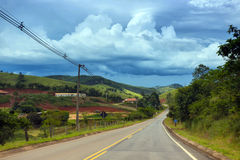 Roads Brazil Royalty Free Stock Photos