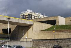 Roads at Brighton Marina. Sussex. UK Royalty Free Stock Images