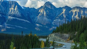 Roads of Canada stock video footage