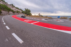 On the roads of Catalonia Stock Photo