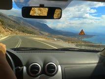 Roads of Crete Stock Images