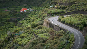 Roads of Gran Canaria Royalty Free Stock Photography