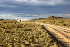 Roads in the Mongolia Stock Images