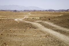 Roads in Namibia Stock Image