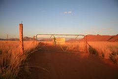 Roads in Namibia Royalty Free Stock Photography