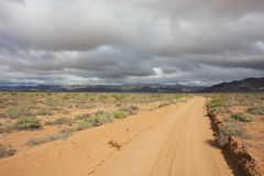 Roads in Namibia Stock Photos