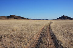 Roads in Namibia Stock Photography