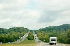 Tennessee state  roads and nature Royalty Free Stock Photos
