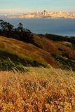 Roads near the Golden Gate Bridge Stock Images