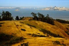 Roads near the Golden Gate Bridge Stock Photos