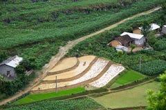 Roads in northern Vietnam Stock Photo