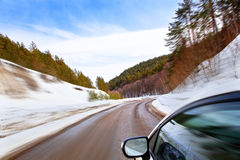 Free Roads Of Winter Royalty Free Stock Photo - 24053655