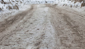 Roads should tread Royalty Free Stock Images