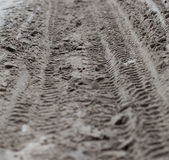 Roads should tread Royalty Free Stock Photography