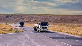Roads of South Kazakhstan. Stock Photo