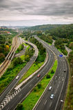 Roads Top View Royalty Free Stock Photos