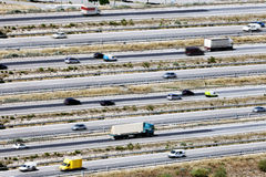 Roads and traffic. Royalty Free Stock Photography