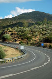 Roads in Turkey. Roads to go to the coastline of Turkey.Blured motion Stock Photography
