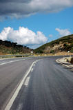Roads in Turkey Royalty Free Stock Images