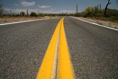 Roads in the USA Royalty Free Stock Photography