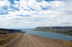 Roads at Westfjords, Iceland Royalty Free Stock Photography