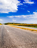 Roadscape Royalty Free Stock Photography