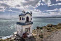 Roadside altar in Greece Royalty Free Stock Photo