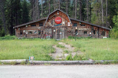 Roadside Antique Shop, Yahk, BC, Canada Stock Images