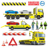 Roadside assistance Stock Photography