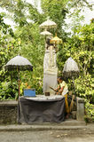 Roadside shrine in bali indonesia Stock Photos