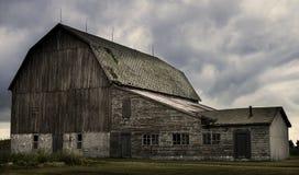 Roadside Barn Royalty Free Stock Photography