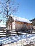 Roadside barn Stock Photography