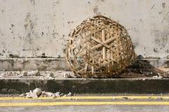 Roadside Basket Royalty Free Stock Images