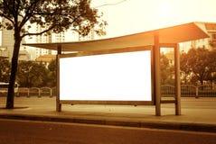 Roadside billboards Stock Image