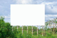 Roadside billboards. Billboards on the streets of Thailand Royalty Free Stock Photography