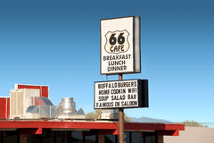 Roadside Cafe Sign Stock Photography