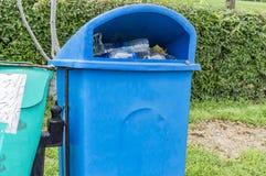 Roadside dustbins Royalty Free Stock Photo