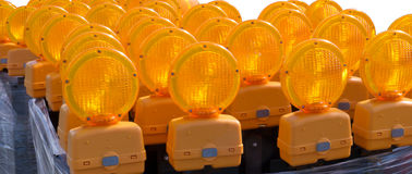 Roadside Emergency Lights Royalty Free Stock Images