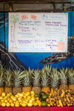 Roadside Fruit Stand in Maui Stock Photos