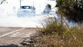 Roadside grass fires. Stock Images