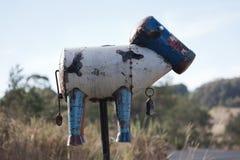Roadside letter box. Country NSW. Australia. Royalty Free Stock Photo