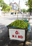Roadside lime stall in Hoi An Royalty Free Stock Photo