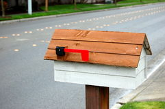 Roadside mail box royalty free stock photography