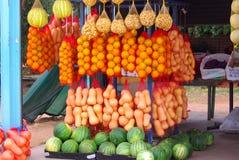 Roadside Market, Australia. Roadside stall selling fruit and vegetables in Renmark, South Australia royalty free stock photography
