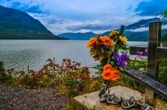 Roadside Memorial royalty free stock image
