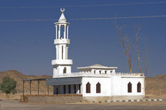 Roadside mosque in the Egyptian desert Stock Photo