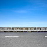 Roadside and pavement Royalty Free Stock Photos