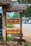 Roadside petrol station Stock Images