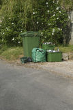 Roadside,recycle,household collection Royalty Free Stock Images