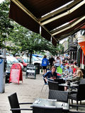Roadside Restaurants in  edinburgh,scotland Stock Photo